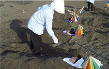 蒸指宿沙子温泉图片